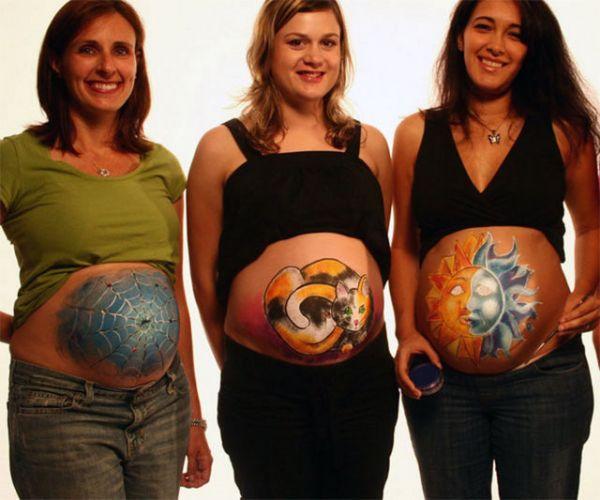 Когда живот у беременных становится видно