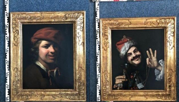 Çöpten iki değerli tablo çıktı!