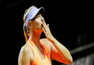 Sharapova hızlı başladı