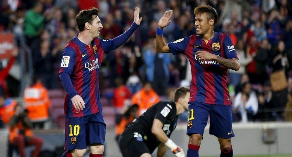 Neymarın Messi paylaşımı kafaları karıştırdı 79