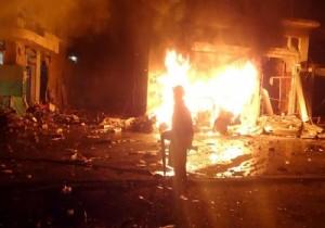 İdlib'de bombalı saldırı: 9 ölü