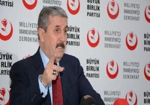 Mustafa Destici'den ittifak mesajı