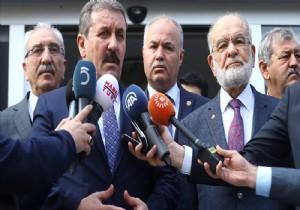 Destici'den 'Cumhur İttifakı' açıklaması