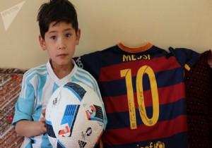 Küçük Messi Taliban'ın hedefinde