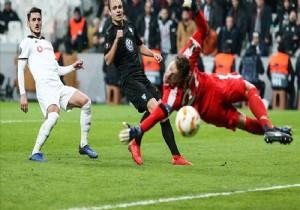 Beşiktaş, Avrupa Ligi'ne veda etti