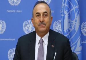 Çavuşoğlu, ABD'de basın toplantısı yaptı