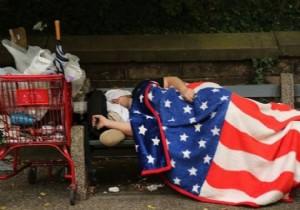 ABD'de yarım milyon kişi evsiz