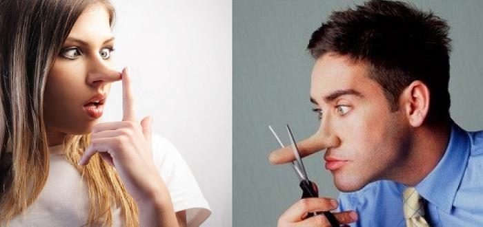 Erkekler Daha Sık Kadınlar Daha Büyük Yalan Söylüyor