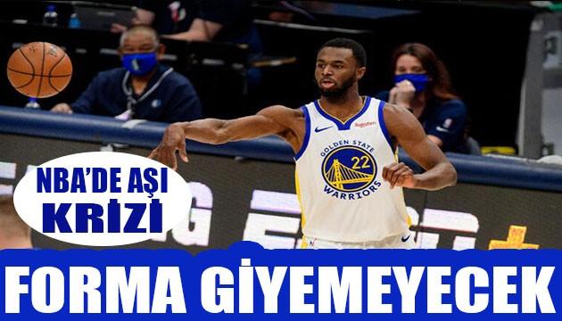 NBA'de aşı krizi! Forma giyemeyecek