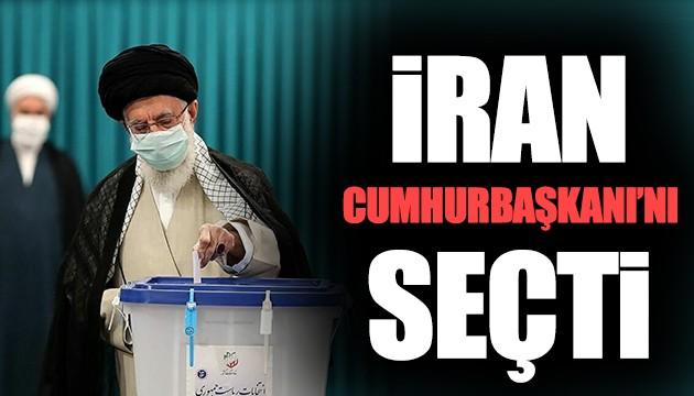 İran Cumhurbaşkanı'nı seçti