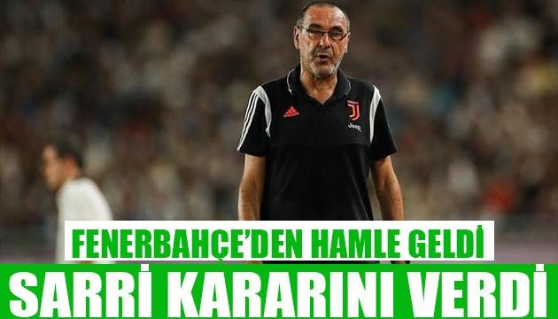 Fenerbahçe'den Sarri hamlesi