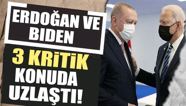 Kritik NATO zirvesi: Erdoğan ve Biden uzlaştı