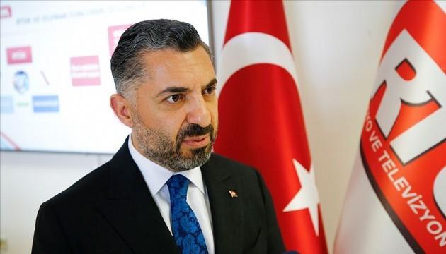RTÜK Başkanı Şahin'den CHP'li İlgezdi'ye tepki!