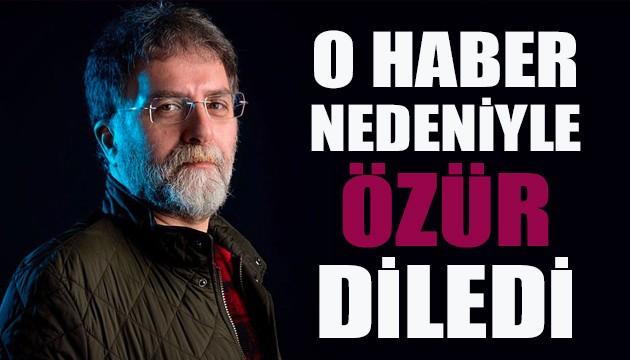 Ahmet Hakan'dan 'fişleme' haberi özrü!