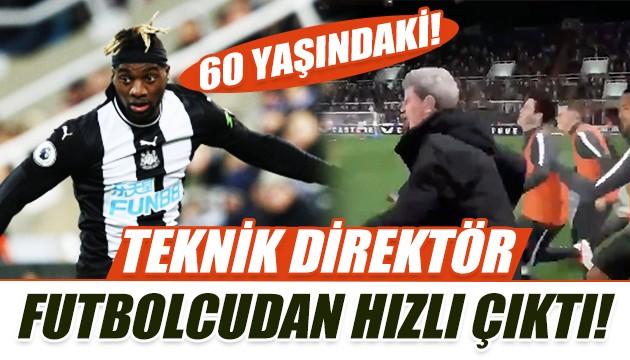 Teknik direktör futbolcudan hızlı çıktı!
