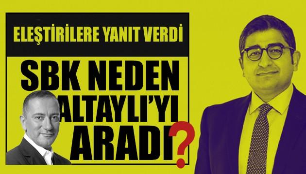 Fatih Altaylı, Korkmaz'ın niye kendisini aradığını açıkladı