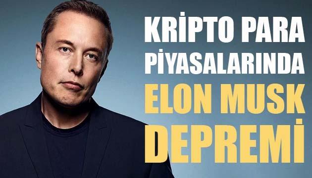 Kripto para piyasalarında Elon Musk depremi