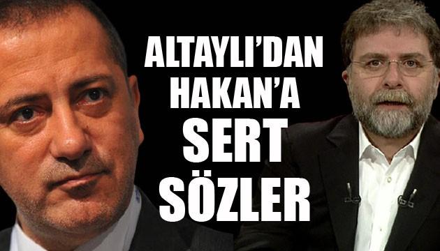 Fatih Altaylı'dan Ahmet Hakan'a: Bizi ahmak yerine koymaktan vazgeçiniz