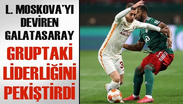 L. Moskova'yı deviren Galatasaray, gruptaki liderliğini pekiştirdi