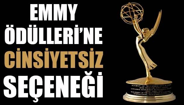Emmy Ödülleri'ne 'cinsiyetsiz' seçeneği