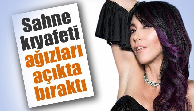 Hande Yener'in sahne kostümü görenleri şaşırttı