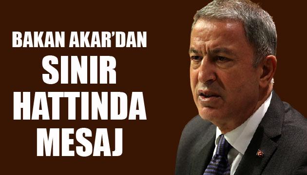 Μήνυμα του υπουργού Akar στα σύνορα – Τρέχουσες ειδήσεις, Breaking News, Turktime News Portal