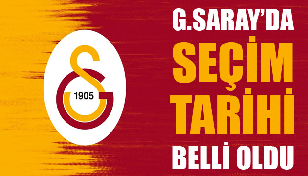 Galatasaray da başkanlık seçiminin tarihi belli oldu