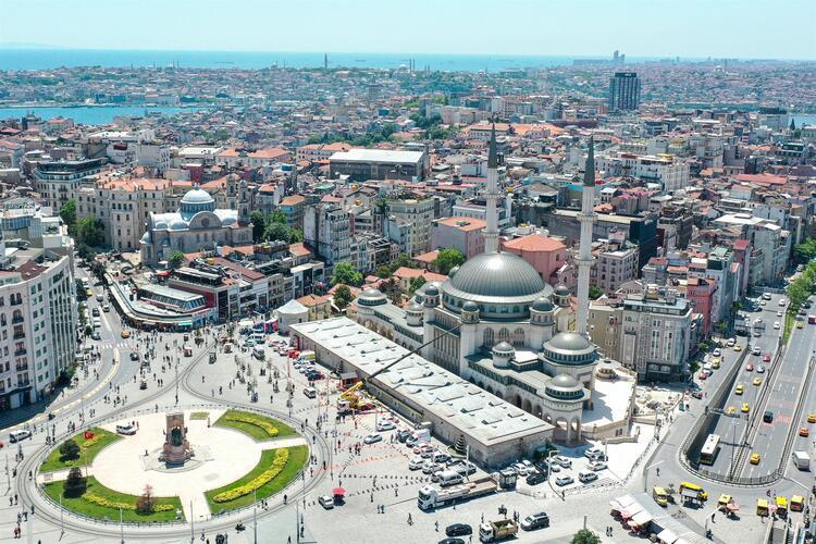 Taksim Camii nin açılışını Erdoğan yaptı