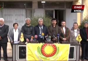 Barzani'nin partisinden PYD'ye destek