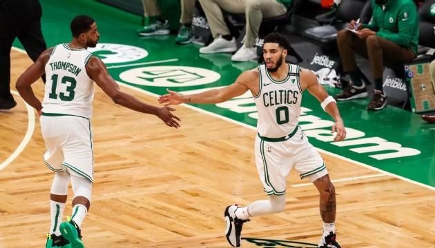 Tatum Celtics'i sırtladı