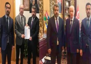 Fatih Bucak, MHP'den aday oldu