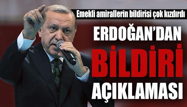 Cumhurbaşkanı Erdoğan 'bildiri' açıklaması yapacak!