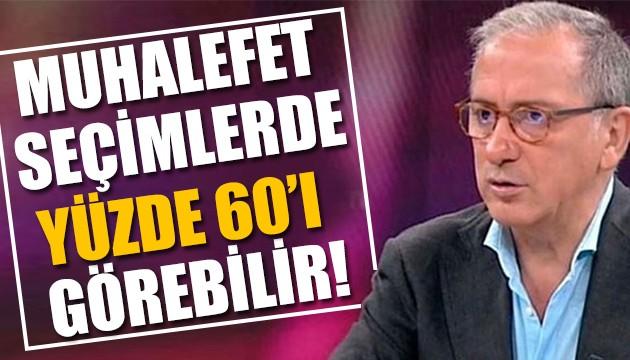 Fatih Altaylı yazdı: Seçim için erken ama yüzde 60'a yaklaşabilir!