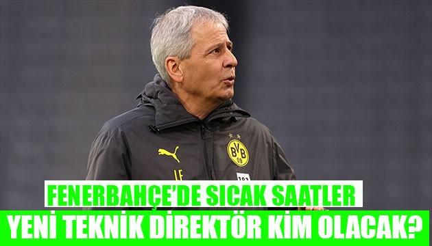 Fenerbahçe teknik direktörü kim olacak?