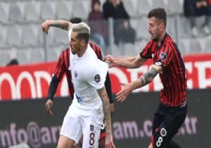 Trabzon penaltı ile 3 puanıda kaçırdı