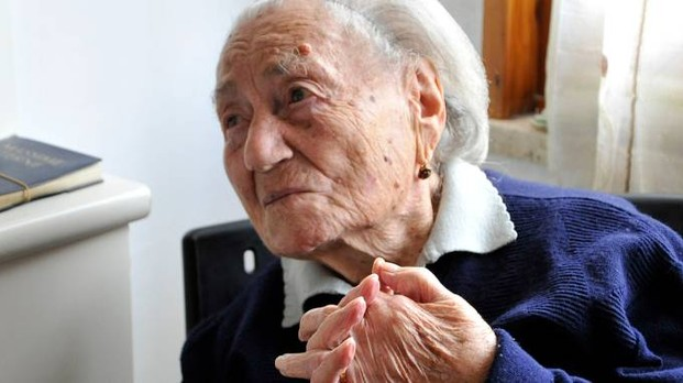 Avrupa'nın en yaşlı kadını 116 yaşına öldü 83