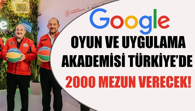 Google Akademi Türkiye'de! 2000 mezun verecek!