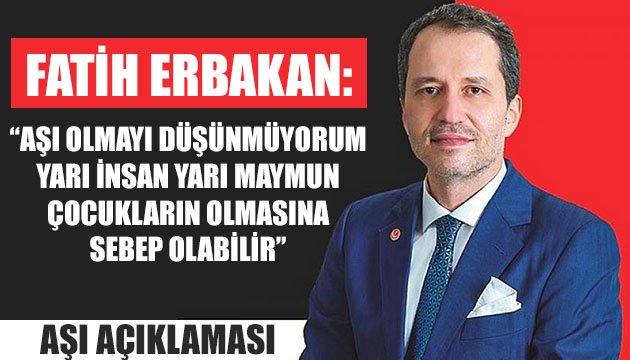 Fatih Erbakan'dan ilginç aşı açıklaması! – Güncel Haberler, Son Dakika Haberleri, Turktime Haber Portalı