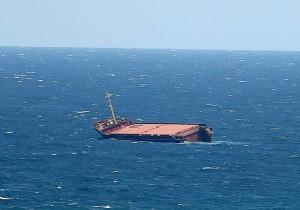 Hırvatistan'da Türk gemisi battı