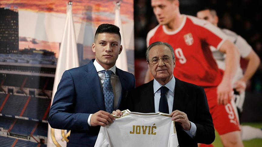 Luka Jovic, resmen Real Madrid de