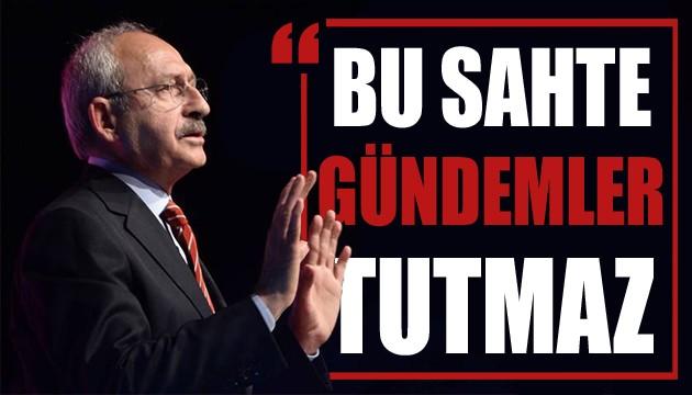 Kılıçdaroğlu'ndan amirallerin bildirisine ilk açıklama: Bu sahte gündemler tutmaz