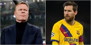 Koeman'dan Messi açıklaması – Güncel Haberler, Son Dakika ...