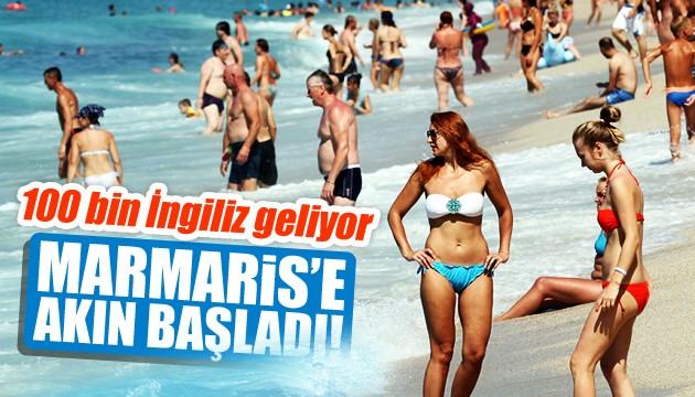 Marmaris'e akın başladı! 100 bin İngiliz turist geliyor