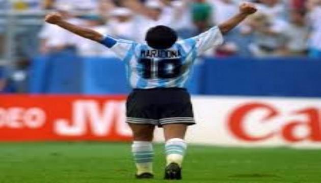 Futboldan Maradona geçti