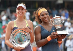 Williams ile Sharapova final ma��n� de�erlendirdi!