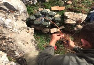 Yasaklı mayınlar YPG'nin elinde çıktı