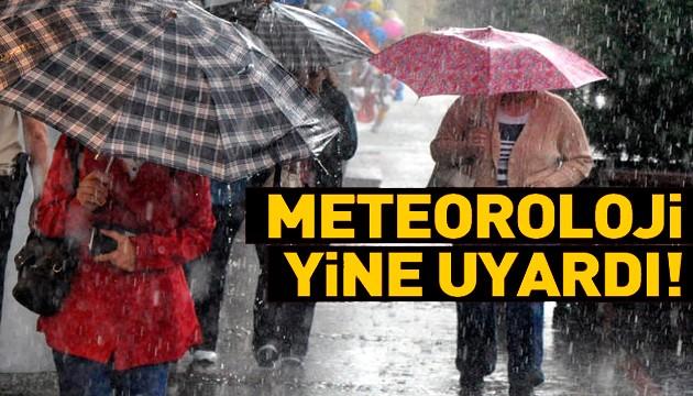 Birçok il için kritik yağış uyarısı