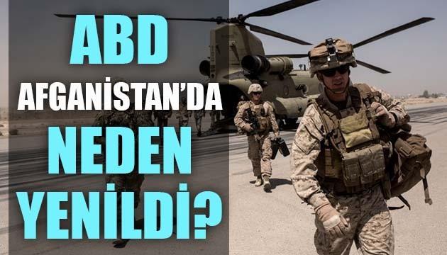 ABD, Afganistan'da neden yenildi?