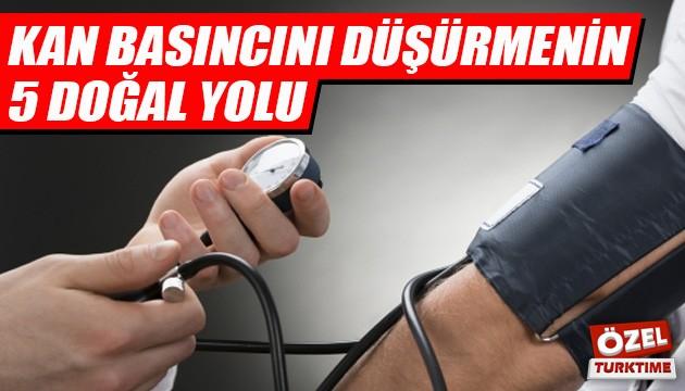 Kan basıncını kontrol altında tutmanın 5 doğal yolu!