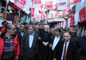 CHP Heyeti Kuştepeliler'le buluştu
